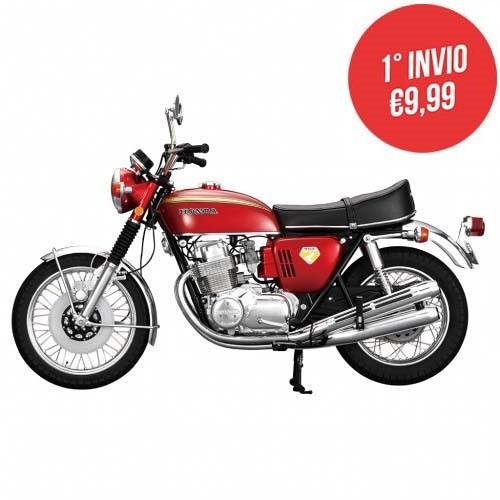 Costruisci la Honda CB 750   Scala 1:4