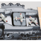 Build IJN Akagi - three elevators with detailed mechanisms and plaforms