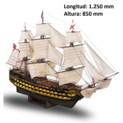 Construye el HMS Victory | Escala 1:84