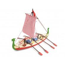 Barco Vikingo | Modelo Niño | Kit Completo