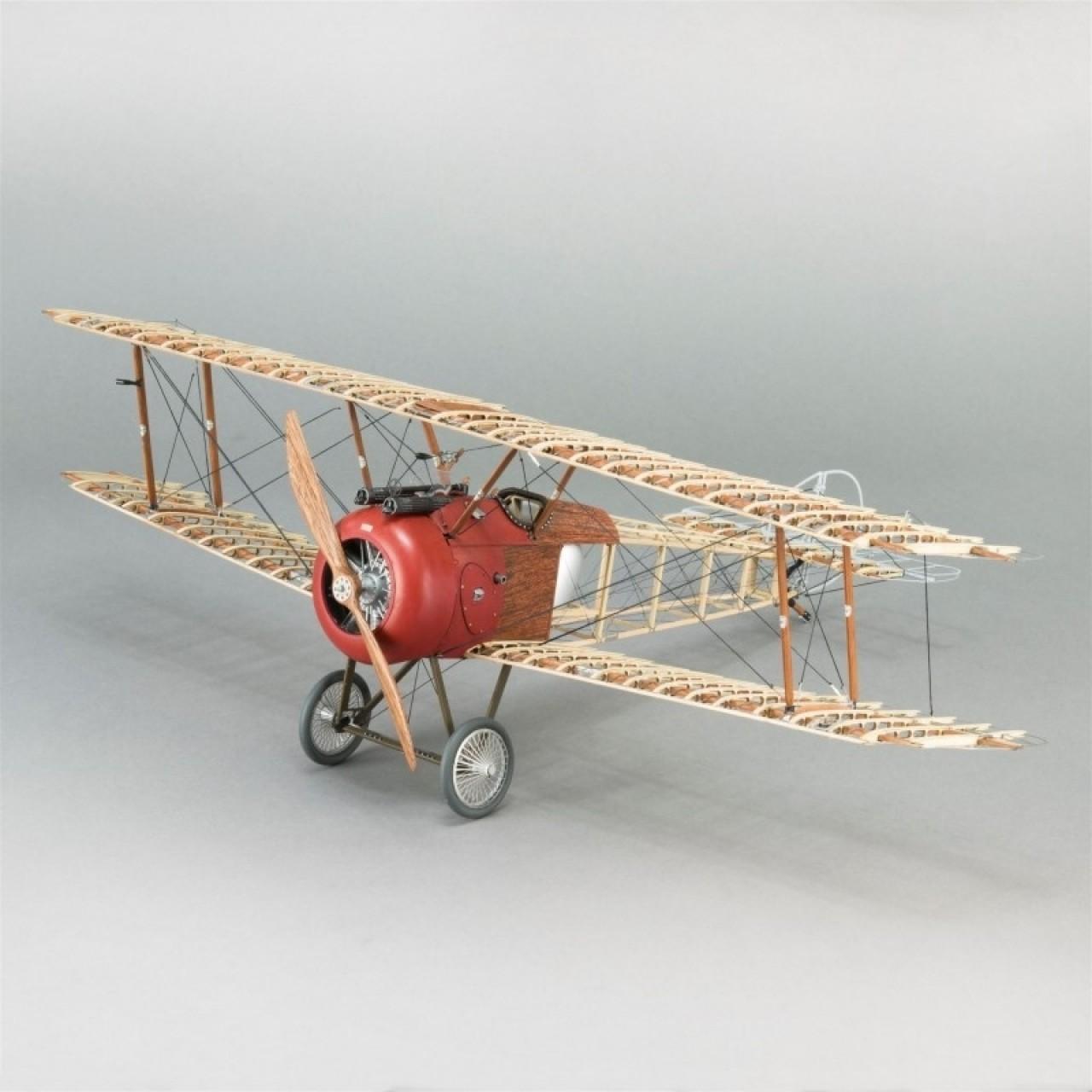 cortado con l/áser kit de madera de balsa KIT DE Sopwith Camel Slowflyer escala 1//20 505 mm de envergadura 245 x 380 x 128 mm de tama/ño modelo de avi/ón para la auto construcci/ón kit modelo RC
