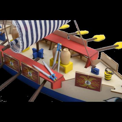 Galera Romana I Modelo Niño   Kit Completo