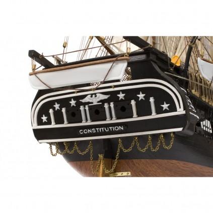 Construye el USS Constitution | Escala 1:76 | Kit Completo