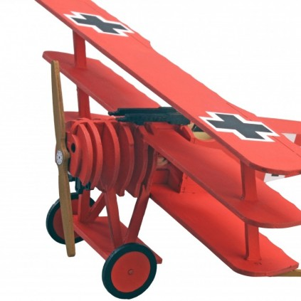 Avión Baron Rojo | Maquetas Niños | Kit Completo