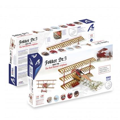 Avión Fokker DR.I- Baron Rojo | Escala 1:16 | Kit Completo