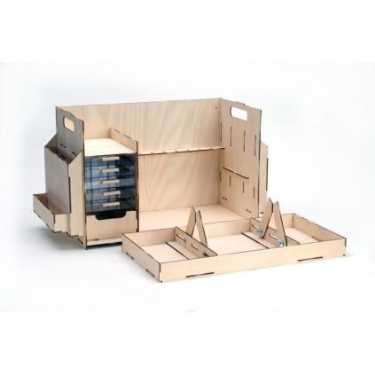 Mesa de trabajo para maquetas