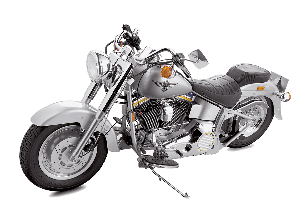 Harley Davidson Fatboy 1 4 Maquette Modelspace