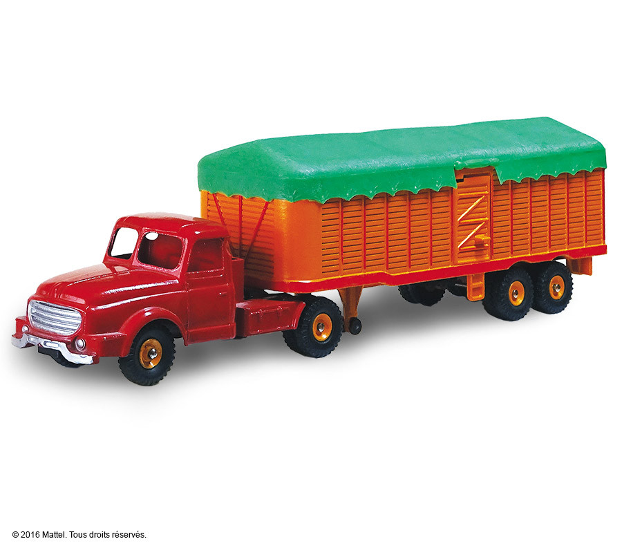 le tracteur will me et semi remorque b ch e dinky toys. Black Bedroom Furniture Sets. Home Design Ideas