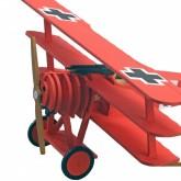 Avion FOKKER DR.I - Baron Rouge I Maquette enfant I Kit complet