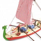 Drakkar - Bateau Viking   Maquette Enfant   Kit Complet