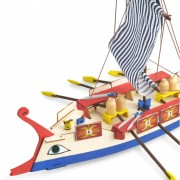 AVE CAESAR Galère Romaine | Maquette Enfant | Kit Complet