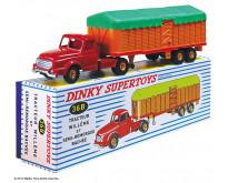 Le Tracteur Willème et Semi-Remorque Bâchée Dinky™ Toys