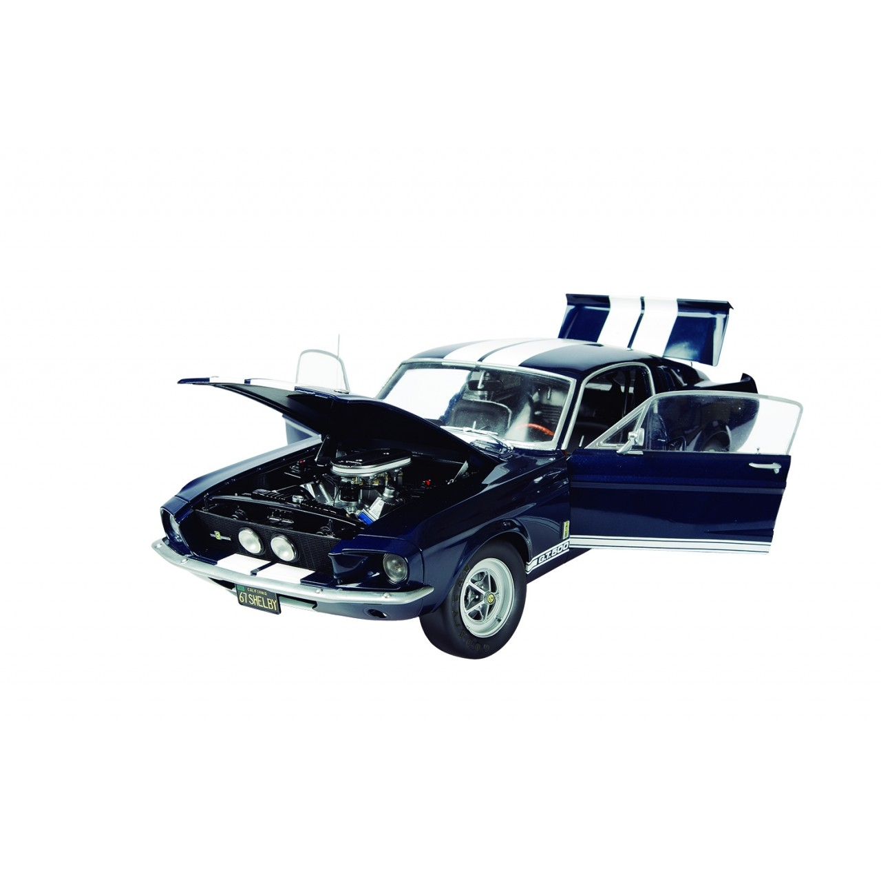 NUMERO 33 Montez votre Ford Mustang Shelby GT-500 1967 Echelle 1//8 Altaya No