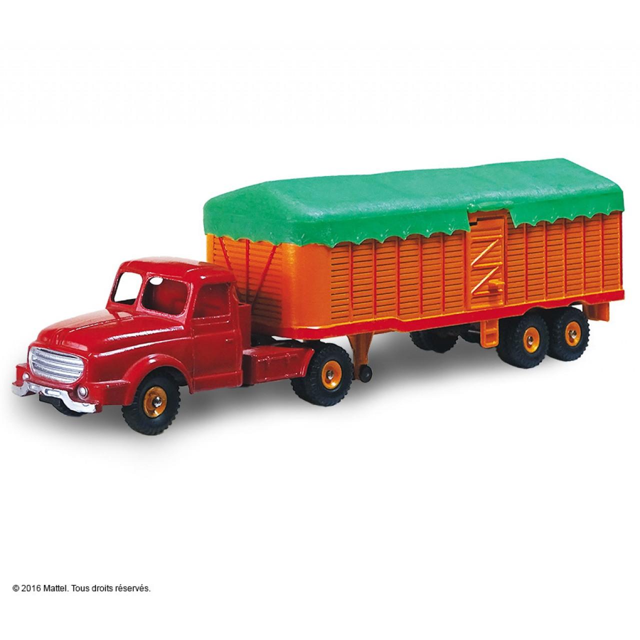 Le tracteur will me et semi remorque b ch e dinky toys - Cars et les tracteurs ...