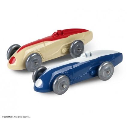Les 2 Autos de course réf. 23 A Dinky™ Toys