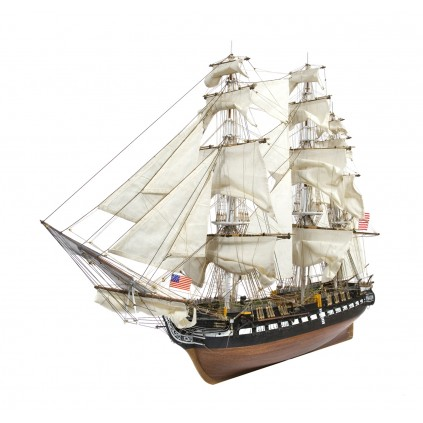 USS Constitution | Maquette échelle 1/76