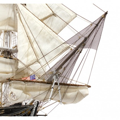 USS Constitution I Maquette 1/76   Kit Complet