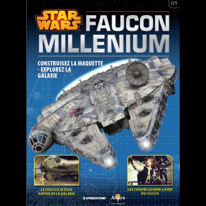 Numéro 1 | Construisez le Faucon Millenium | Echelle 1:1