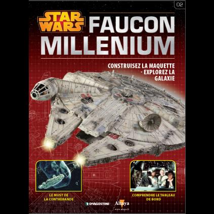 Numéro 3 | Construisez le Faucon Millenium | Echelle 1:1