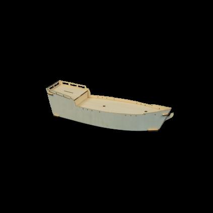Bateau pirate I Modèle enfant I Kit complet