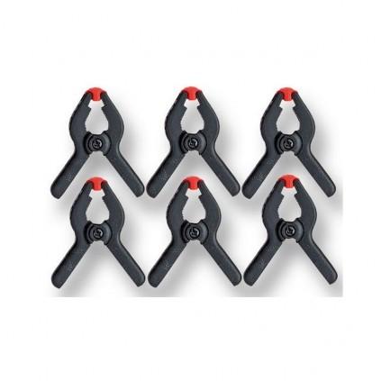 Ensemble de pinces à ressorts | 6 pinces