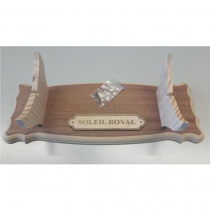 Soleil Royal | Socle du bateau