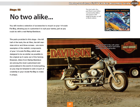 Harley-Davidson Fat Boy Magazine