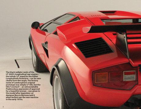 Lamborghini Countach Lp 500s Model Car Modelspace
