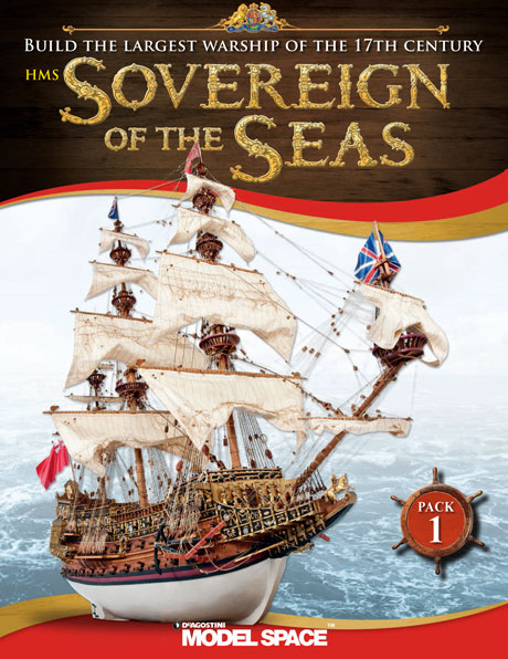 Sovereign of the Seas - Cover