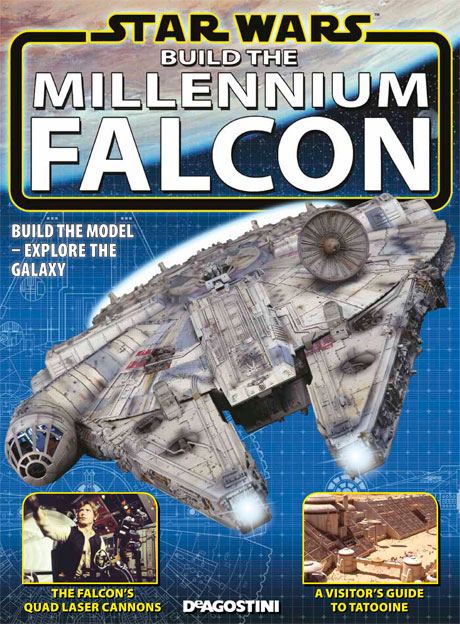 Millennium Falcon Printer Cover