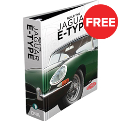 Jaguar E-type Binder