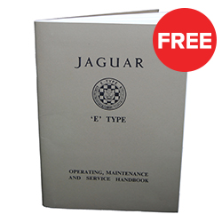 Jaguar E-type Manual & Poster