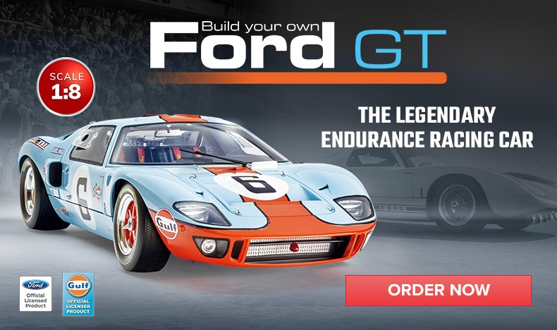 Build your Ford GT model car