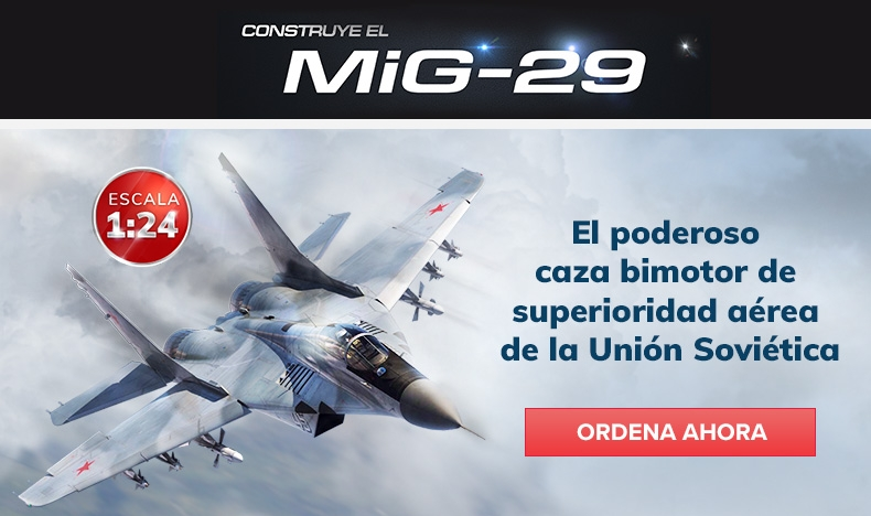 Construye el Mig-29