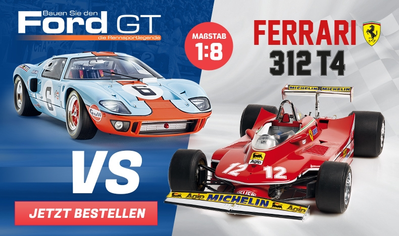 Ford GT vs Ferrari 312 T4