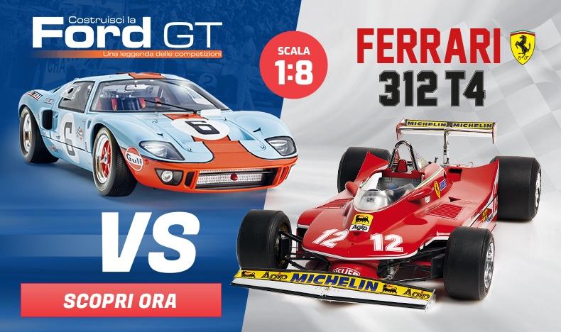 Ford GT vs Ferrari 312 T4