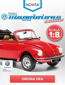 VW Maggiolone Cabrio 1303