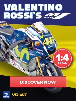 Valentino Rossi's Yamaha YZR-M1