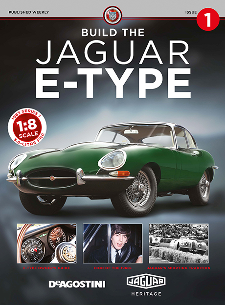 Jaguar E-type Cover