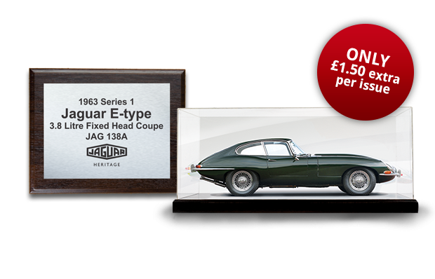 A Commemorative Wall-mounted Presentation Plaque to display alongside your completed model with your 15th delivery PLUS a High-Quality Acrylic Display Case to showcase your model with your final delivery