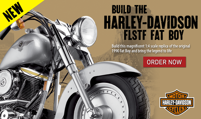 Build the Harley Fat Boy