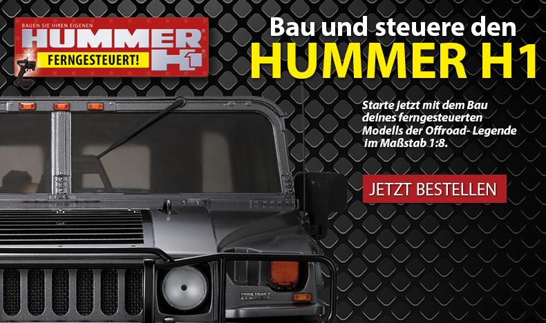 Bau und steuere den Hummer H1