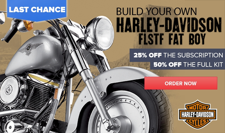 Harley-Davidson 25% Off the Subscription