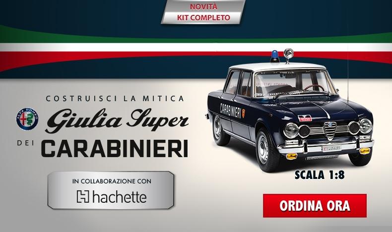 Giulia dei Carabinieri Kit Completo