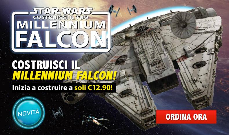 Costruisci il Millennium Falcon