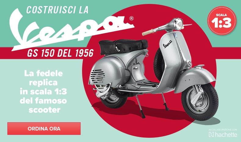 Vespa GS 150 modellino scooter
