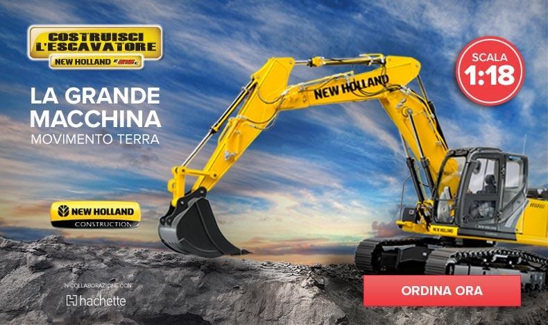 Costruisci l'Escavatore New Holland