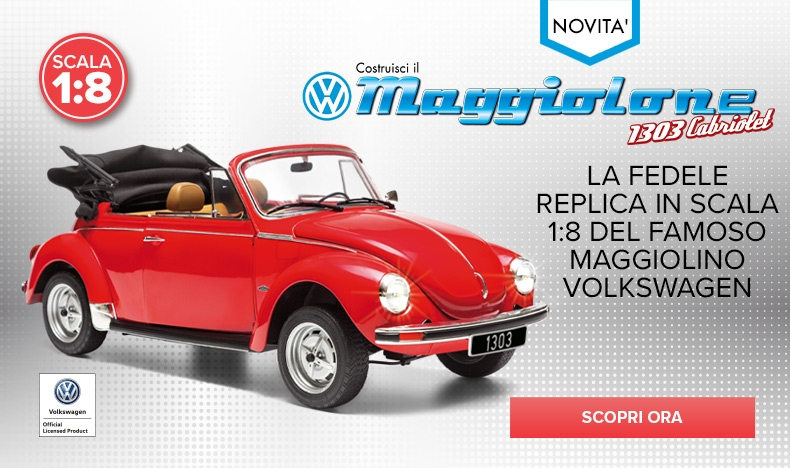Costruisci il VW Maggiolone