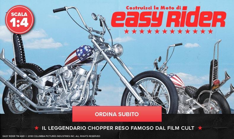 Costruisci la moto di Easy Rider