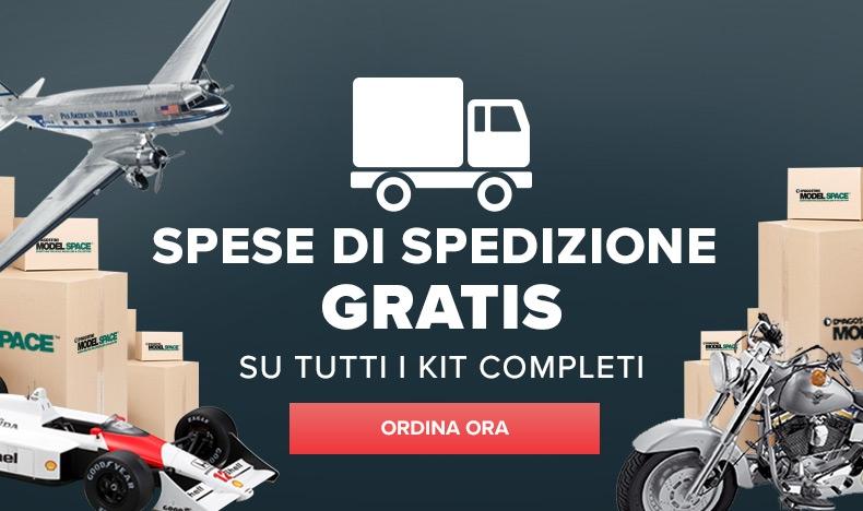 Spese di spedizione gratuite su kit completi